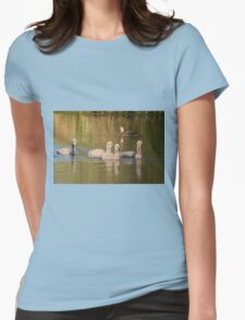 Hanging Out  Womens Fitted T-Shirt