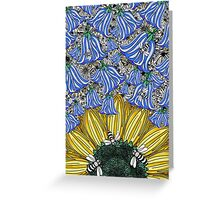 Dance of the Bees Greeting Card