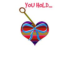 You hold the key to my heart Photographic Print