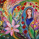 Leah and Flower of Mandragora by Elena Kotliarker
