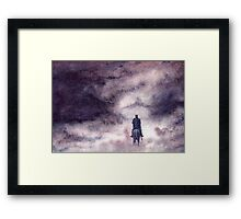 The Witch-king of Angmar Framed Print