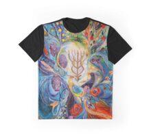 Under the light of Menorah II Graphic T-Shirt