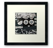 Home Mod Framed Print