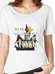 Let Me Tangle You In My Charm Halloween Party Design Women's Relaxed Fit T-Shirt