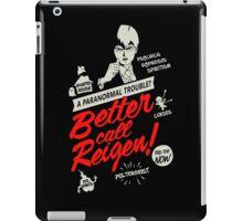 Better Call Reigen Black Back iPad Case/Skin