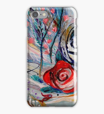 The Rose of Chagall iPhone Case/Skin