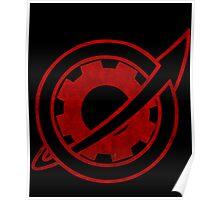 Future Gadget Lab Symbol Poster