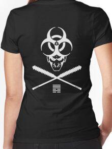 Shadeprint Battle Vest (Vaccum) Women's Fitted V-Neck T-Shirt