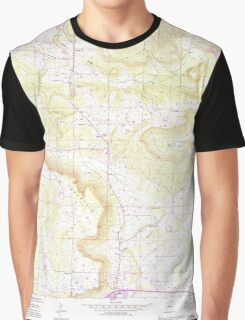 USGS TOPO Map Arkansas AR Moreland 259125 1989 24000 Graphic T-Shirt