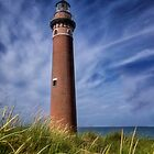 Little Sable Point Light - Michigan by Kathy Weaver