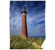 Little Sable Point Light - Michigan Poster