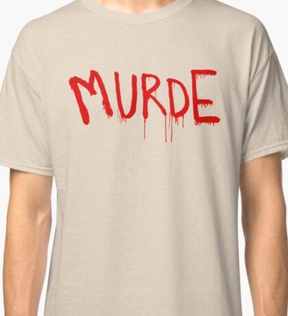 American Horror Story Season 6 My Roanoke Nightmare Murde Graffiti Classic T-Shirt