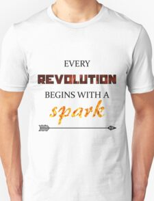 The Hunger Games - Spark  Unisex T-Shirt