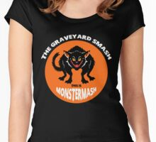 This is Monster Mash - Black Cat Edition Women's Fitted Scoop T-Shirt