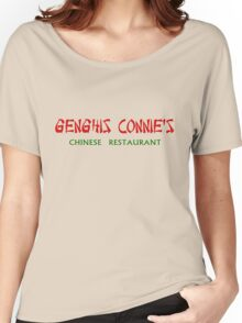 Genghis Connie's Chinese Restaurant Shirt Women's Relaxed Fit T-Shirt
