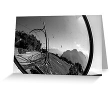 point of wiew of bolzano Greeting Card