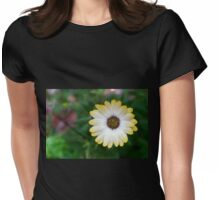A lonely Daisy Womens Fitted T-Shirt