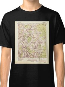 USGS TOPO Map Arkansas AR Altheimer 259973 1935 62500 Classic T-Shirt