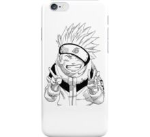 NARUTO: Naruto Kakashi Impression  iPhone Case/Skin