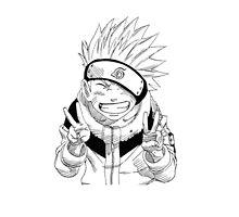 NARUTO: Naruto Kakashi Impression  by TeemoTaylor