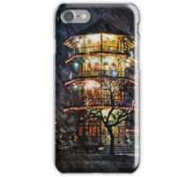 Baltimore Wall Art - Patterson Park Pagoda at Night  iPhone Case/Skin
