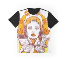 Saint Gamer Girl Graphic T-Shirt