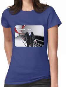 Underdog Underground, Red, White and Blue Womens Fitted T-Shirt
