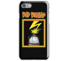 bad brains logo iPhone Case/Skin