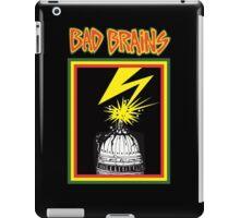 bad brains logo iPad Case/Skin