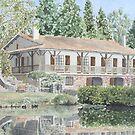 Lakeside House, France by ian osborne