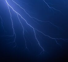 Lightning Strikes by Kenneth Keifer