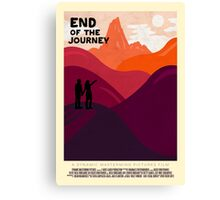End Of The Journey Canvas Print