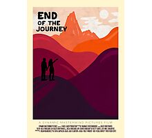 End Of The Journey Photographic Print