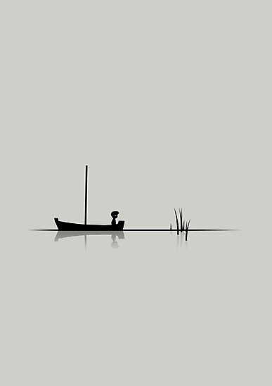 "Limbo #1 ""Boat"" by biglime"