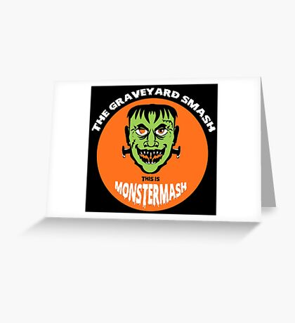 This is Monster Mash - Frankenstein Edition Greeting Card