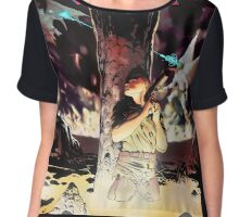 Void War The Keeper of Sin Chiffon Top