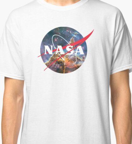 NASA Logo - Hubble, Mystic Mountain Classic T-Shirt