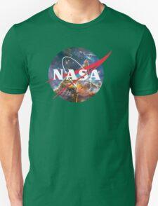 NASA Logo - Hubble, Mystic Mountain Unisex T-Shirt