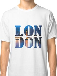 London Letters  Classic T-Shirt