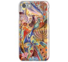 Hanukkah in Magic Garden iPhone Case/Skin