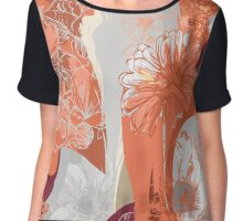 Flower Jungle 3 - Autumn Chiffon Top