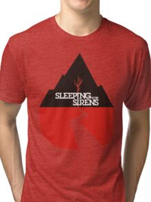 sleeping with sirens with ears to see and eyes to hear cover Tri-blend T-Shirt