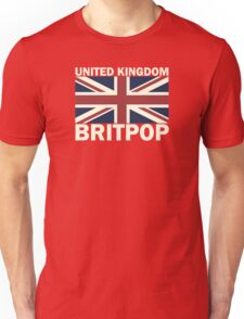 United kingdom flag britpop Unisex T-Shirt