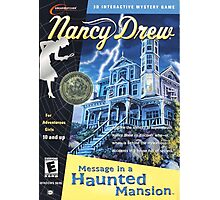 Nancy Drew - Message In a Haunted Mansion (POSTER) Photographic Print