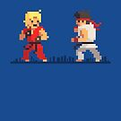 Pixel Fighter by biglime