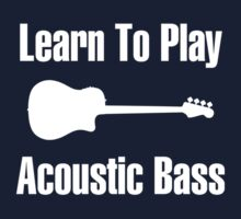 Learn to play acoustic bass One Piece - Short Sleeve