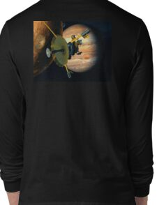 Galileo probe, Io, Jupiter. Space, Solar system Long Sleeve T-Shirt