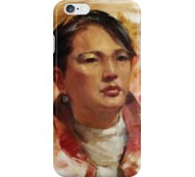Nellie, Life study iPhone Case/Skin