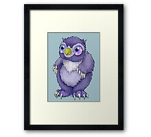 Baby Owlbear D&D Monster Framed Print