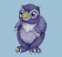 Baby Owlbear D&D Monster by blackgoat